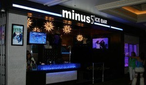 Minus 5 Ice Bar @ Monte Carlo